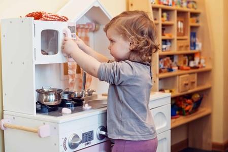 cocinas de juguete de madera