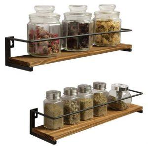 estanterias de cocina de pared